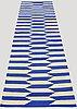 A  runner, flat weave, ca 286 x 82 cm.