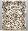 A carpet, kashan, ca 300 x 202 cm.
