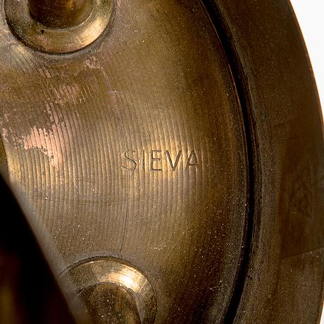 A mid 20th century '50612' chandelier sievä for idman finland.