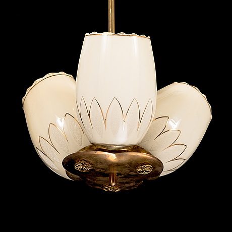 A mid-20th century chandelier for v. soini.