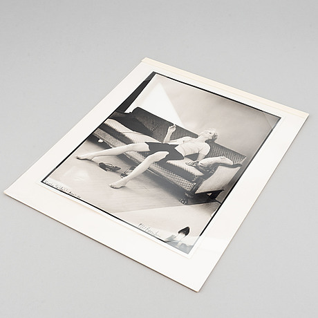Carl bengtsson, photograph, signed and dated -96.