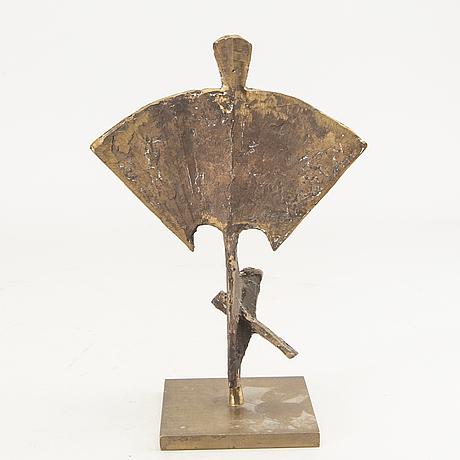 Okänd konstnär 1900-tal, bär signatur, brons.