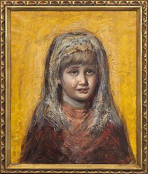 Okänd konstnär 1900-tal ,  oil on canvas, signed.