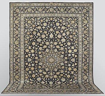 A carpet, Kashan, signed ca  406 x 307 cm.