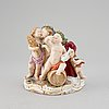 A meissen porcelain figurine group, from around year 1900.