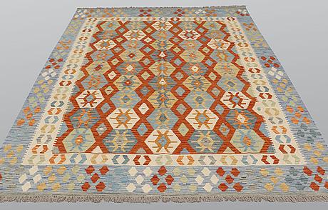 A carpet, kilim, ca 293 x 210 cm.
