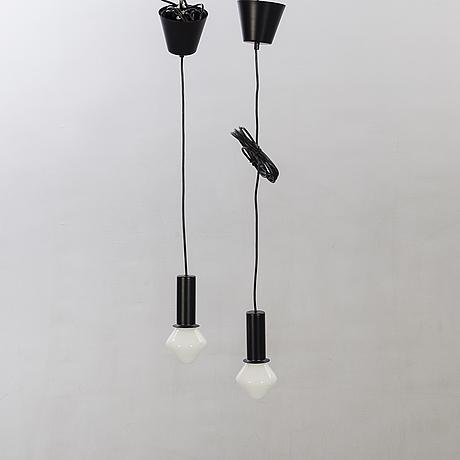 Artek, 2 pendants, tw003, tapio wirkkala.