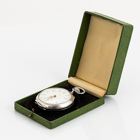 Halda, pocket watch, 50 mm.