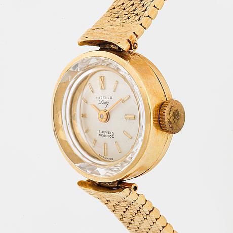 Nitella, lady, armbandsur, 16 mm.