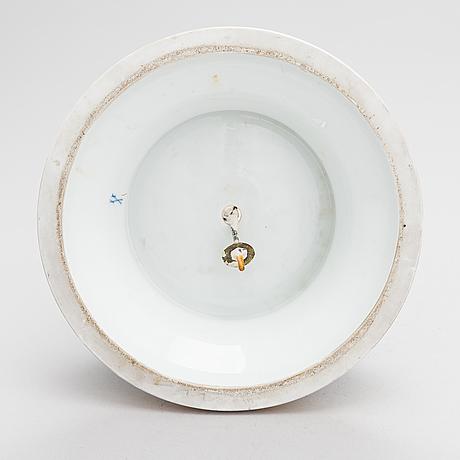 A meissen cupid porcelaine figure, 20th century.