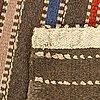 Märta måås-fjetterström, enligt etikett, matta, rölakan 1920-tal, 122 x 74 cm.