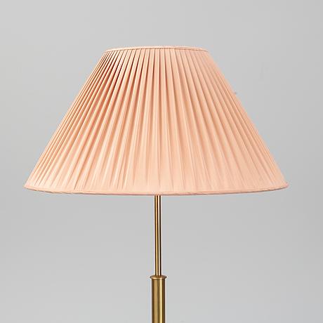 Josef frank, a model 2148 brass floor light, svenskt tenn.