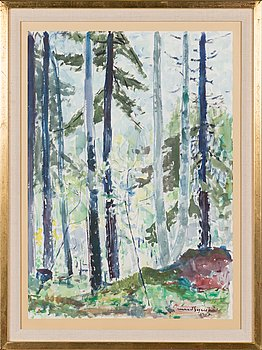 Lennart Segerstråle, water colour, signed and dated 1969.