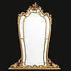 A louis xvb-style gilded mirror first half of the 20th century.