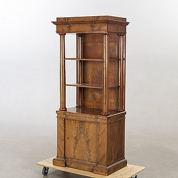 An Empire display cabinet mid 1800s.