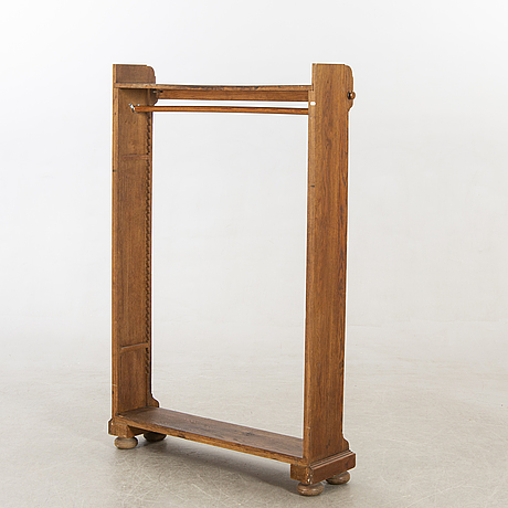 An english oak coat stand early 1900s.