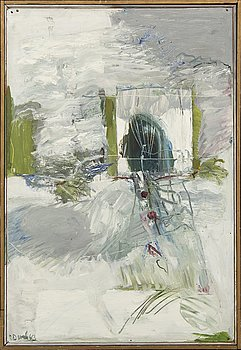 Sten Dunér, oil on panel signed and dated 63.