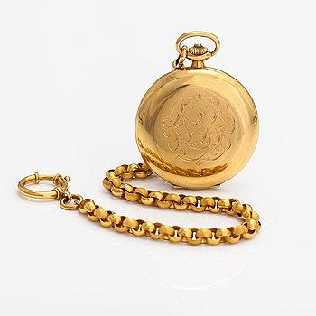 Internationa Watch Co./IWC, Schaffhausen, pocket watch, 51 mm.