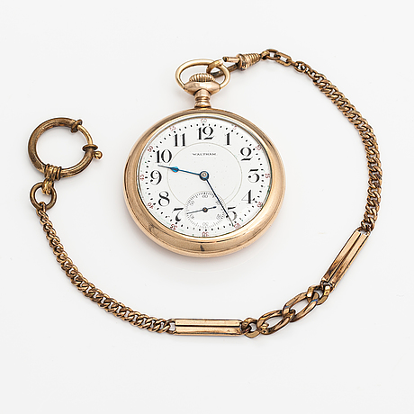 Waltham, pocket watch, 51 mm.