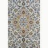 A carpet, kashan, ca 395 x 292 cm.