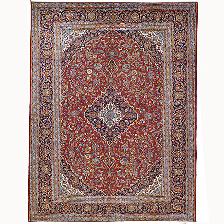 A carpet, keshan, ca 398 x 300 cm.