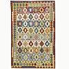 A carpet, kilim, ca 294 x 191 cm.