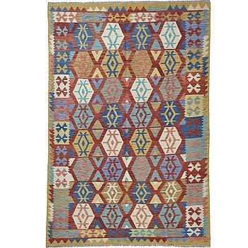 A carpet, kilim, ca 253 x 178 cm.