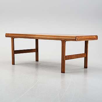 Johannes Andersen, a teak coffee table, 1960's.