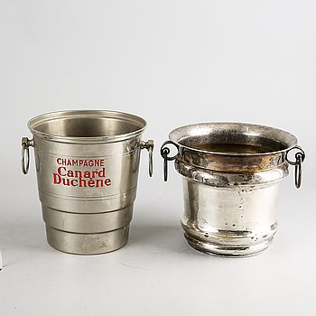 A set of two French champagne coolers first half of the 20th century.