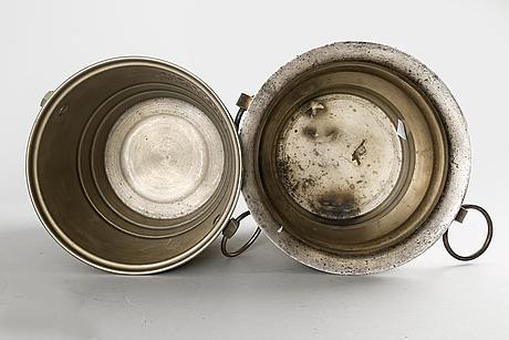 Champagnekylare 2 st frankrike 1900-talets första hälft.