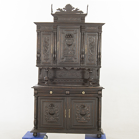 A neo-renaisssance styel cupboard first half of the 20th century.