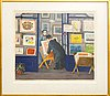 Lennart jirlow, lithograph signed and numbered 211/380.