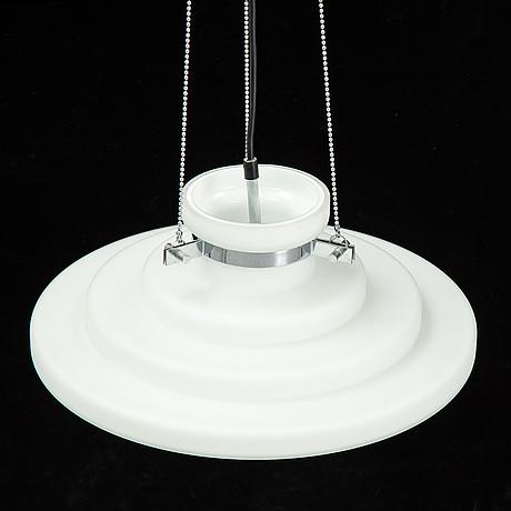 A glass ceiling light, limburg, germany.