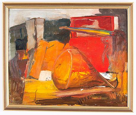 Staffan hallström, oil on canvas.