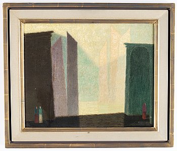 Sven Jonson, oil on canvas, signed and dated -47.