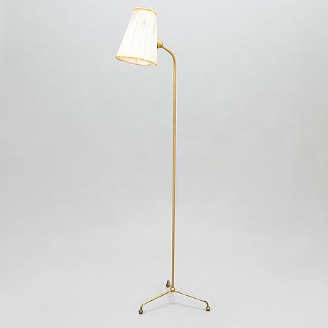 Golvlampa, sievä 1950-tal.
