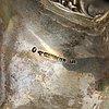 A parcel-gilt swedish silver bowl, mark of hans georg vogt & söner,  kristianstad 1855-59.