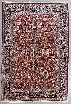 A carpet, Old Kerman, ca 308 x 210 cm.