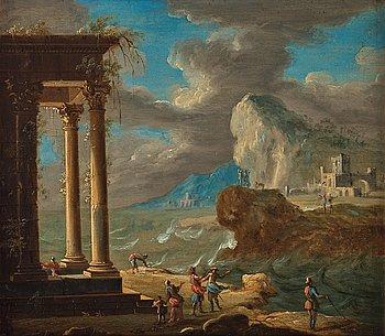 Italian school 18th Century, oil on copper.