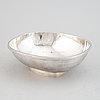 Rolf carlman, a sterling silver bowl, cf carlman, stockholm 1975.