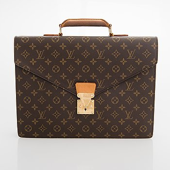Louis Vuitton, A Monogram Canvas 'Ambassador' Briefcase.