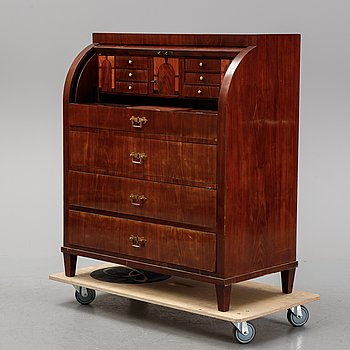 An early 19th century Empire secretaire.