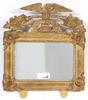 Spegellampett, nyrokoko, 1800-talets andra hälft.
