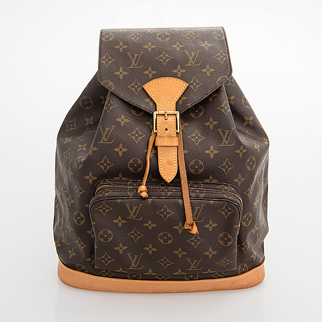 Louis vuitton, monogram canvas montsouris backpack.
