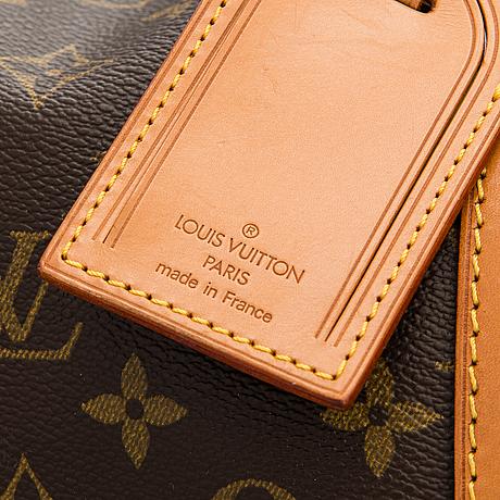 Louis vuitton, a monogram canvas 'keepall 60' bag.