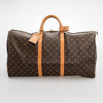 Louis Vuitton, A Monogram Canvas 'Keepall 60' Bag.