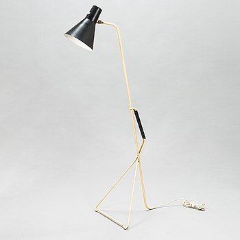 A 1950's '2021' floor lamp for Valinte.