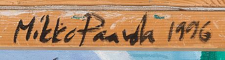 Mikko paavola, olja på duk, signerad a tergo.