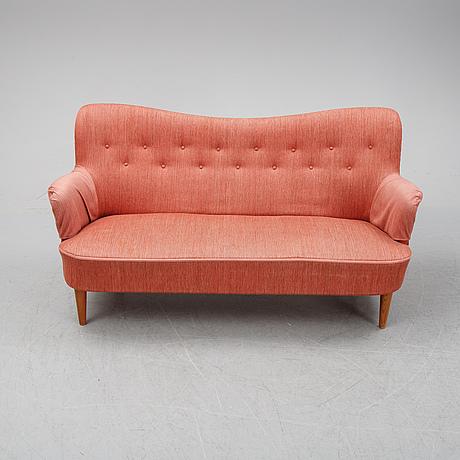"""Carl malmsten, soffa, """"gävle"""", oh sjögren, 1900-talets andra hälft."""