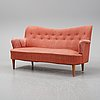 A 'gavle' sofa by carl malmsten for oh sjögren, second half of the 20th century.